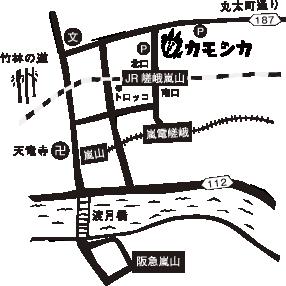 カモシカ地図_map
